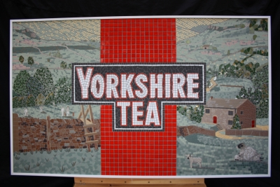 Yorkshire Tea Mosaic