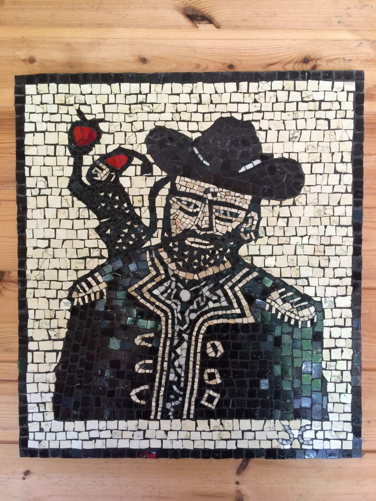 pirate captain mosaic